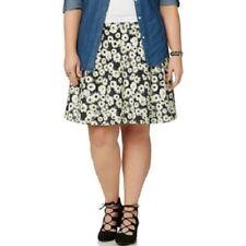 Joe Boxer daisy print circle skirt, Plus size 3X