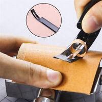 Stahl Sicherheit Beveler Ausdünnung Leder Handwerk Messer Nähte Werkzeug