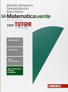 9788808721211 - MATEMATICA.VERDE volume 3A + 3B - Zanichelli