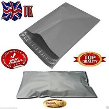 200x Strong Package Small Size Post Poly Grey Mail Bag 4.5x7 inch/11.4x17.8cm