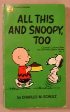 All This and Snoopy Too 1962 SC PEANUTS Charles Schulz Fawcett Crest