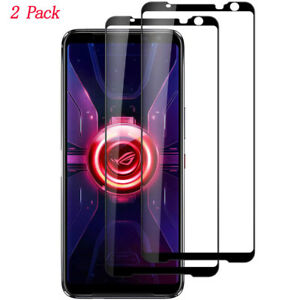 2 pack Full screen silk Tempered Glass Screen Protector for Asus ROG Phone 1 2 3