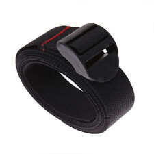 Practical Durable Adjustable Nylon Cargo Tie Down Luggage Black Belt Strap