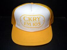 VINTAGE CKRY FM 105 SNAPBACK MESH TRUCKERS CAP - BALL HAT
