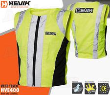 Gilet HEVIK HVE401 Vest TESEO Alta Visibilita' Moto KAPPA GIVI TG L - XL