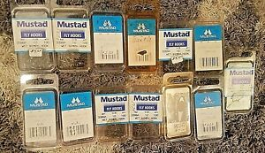 1300 New Mustad Sproat Wet Nymph 3399A  Size 10 & 12 Fly Tying Hooks Fishing *NR