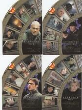 Stargate SG-1 Season 4: Heroes in Action 4 card set H1- H4