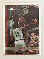 1997-1998 Topps Chrome Michael Jordan #123. Chicago Bulls. Invest.