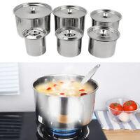 Hotel Table Flavour Condiment Pot Salt Spice Jar Soup Serving With Lid
