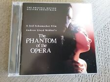 the Phantom Of the Opera original motion picture soundtrack cd very good conditi