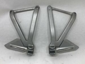 Ducati 748 916 996 998 Passenger Biposto Pillion Rear Foot Pegs Brackets Set