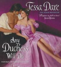 The Spindle Cove: Any Duchess Will Do by Tessa Dare (2014, CD, Unabridged) Audio