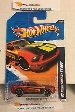 '07 Ford Shelby GT-500 #111 * RED * 2011 Hot Wheels * Y59
