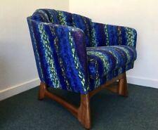 Adrian Pearsall Lounge Chair Alexander Girard Fabric
