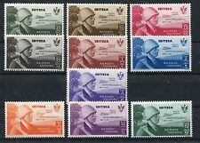 Italienisch - Eritrea 233/42 sauber mit Falz / Flugpost ...................1/601