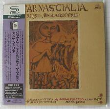 Pasquale MINIERI & Giorgio Vivaldi-Carnascialia Japon SHM MINI LP CD NEUF!