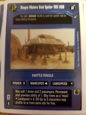 Star Wars CCG WB A New Hope Unlimited Bespin Motors Void Spider THX 1138 X2 Mint