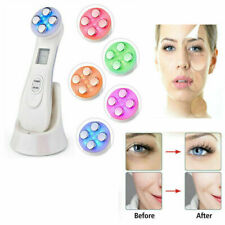 5 in 1 LED RF Skin Beauty Instrument Ultrasonic Face Massager Anti-aging Device