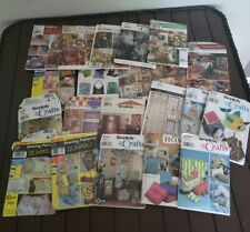 JJ Simplicity Sewing Patterns Home Decore And Crafts lot of 21