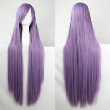 32'' Women Full Long Straight Wig Party Costume Cosplay Wig Halloween Anime Hair