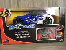 New Bright Remote Control RC Tuner Blue Subaru GT IMPREZA Car