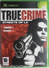 Jeu TRUE CRIME STREETS OF LA microsoft XBOX game francais action nick kang #1