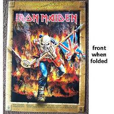 IRON MAIDEN! SOMEWHERE TOUR 2008 2009 POSTER PROGRAM NOS NEW RARE