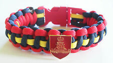 Royal Artillerie Paracord Armband