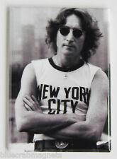John Lennon FRIDGE MAGNET (2 x 3 inches) beatles new york city