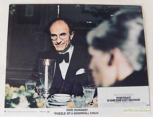 1 Photo Film PORTRAIT D'UNE ENFANT DECHUE de Jerry Schatzberg avec Faye Dunaway