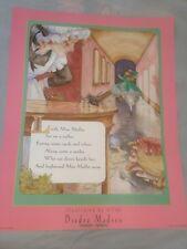 Little Miss Muffet Poster New Diedre Madsen