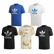 Adidas Originals Trefoil Camiseta Top Camiseta Informal Manga Corta