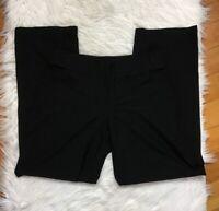 Eileen Fisher Washable Crepe Pants Sz Petite Medium M Black