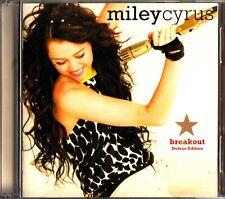 Miley Cyrus- Breakout CD & DVD (2008 DELUXE JAPAN) AVCW-13101/B Remixes Disney