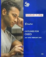 ** LIKE NEW ** 2018 ~ 2019 RECENT EDITION BARBRI OUTLINES FOR OHIO