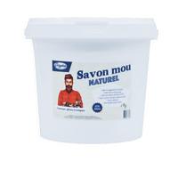 Savon Noir Mou Naturel à l'huile de Lin - 2Kg - Français et Artisanal