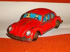 Blechspielzeug Kashiwai 4265 Japan VW Käfer 1500 Beetle Litho Friktion