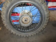 XR 350 HONDA** 1984 XR 350R 1984 REAR WHEEL