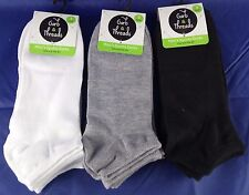 9 Pairs Mens Boys Sports Socks Low Cut Ankle High Comfortable White Grey Black