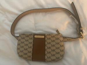 Michael Kors Logo Hip Fanny Pack Belt Bag  NWT