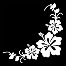 Beautiful Flower Wall Stickers Car Window Door Auto Removable Vinyl Decal Decor