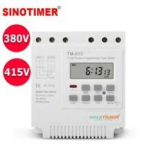 Three Phases 380V 415V 7 Days 24hr Digital Programmable TIMER RELAY Switch