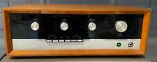 J E Sugden Class A Stereo Amplifier inc manuals/paperwork