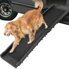 Mucola 50003074 Zusammenklappbare Hunderampe bis 90kg
