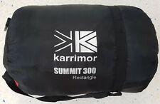 Karrimor Summit 300 Rectangle Sleeping Bag & Carry Case