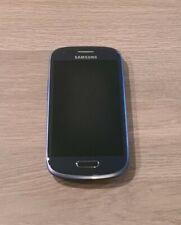 """Samsung Galaxy S III Mini GT-I8200N 8GB Smartphone 4"""" Pebble Blue EE / Virgin"""