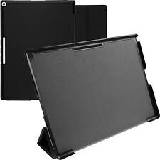 Artificial Leather Case for Google Pixel C - Tri-Fold black + protective foils