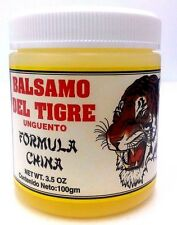 Balsamo Del Tigre China Formula Tiger Balm Pain Relief Rub 3.5 Oz