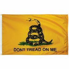 New listing Gadsden Flag, 3'x5' nylon, 100% American Made, Free Shipping, Historical