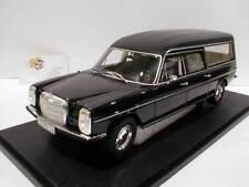 Cult CML051-1 - Mercedes-Benz W114 Pollmann Leichenwagen Bj. 1972 schwarz 1:18